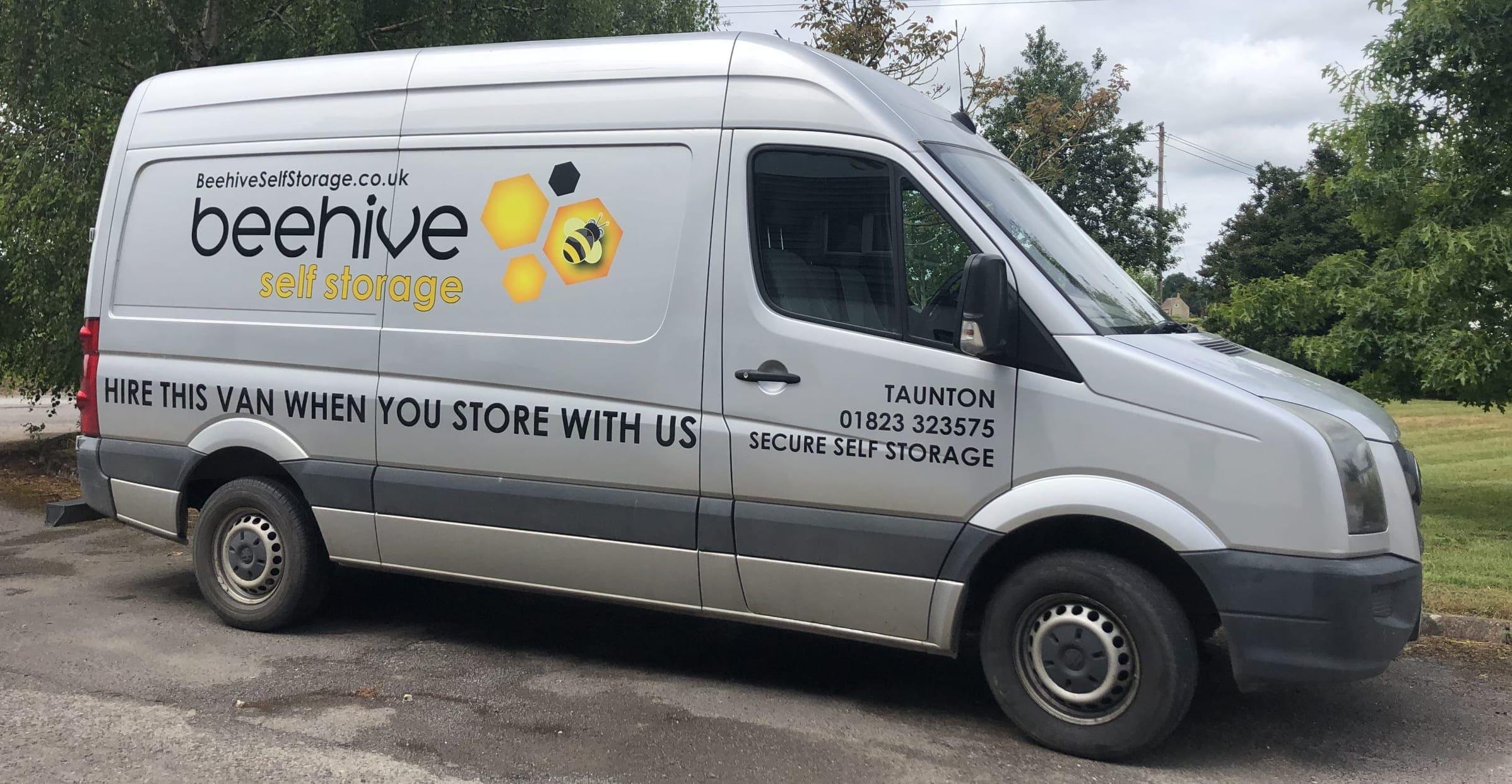 Our Beehive van